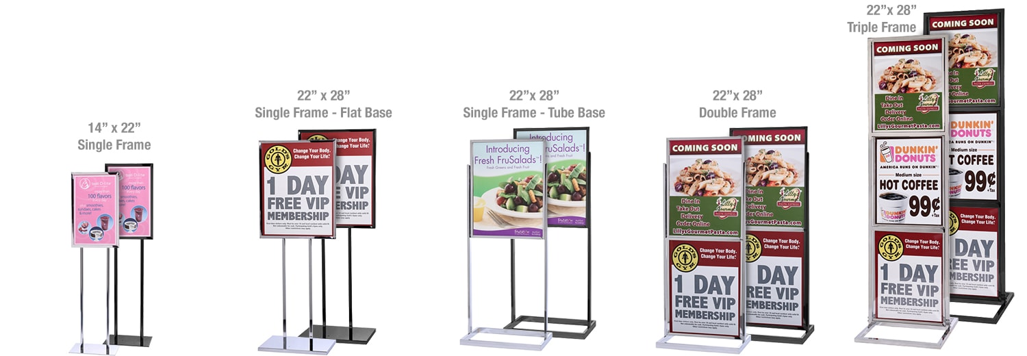 Posters & Banners | Queue Solutions, Stanchions, Barricades
